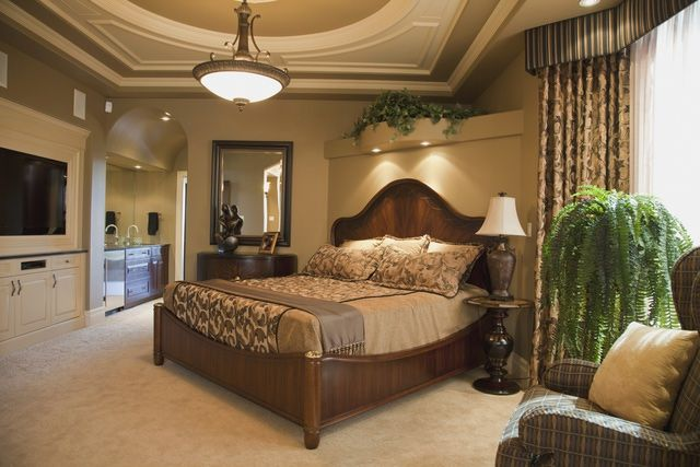 The Tuscan style brings Old-World elegance, along with warmth and welcome, to your bedroom.
