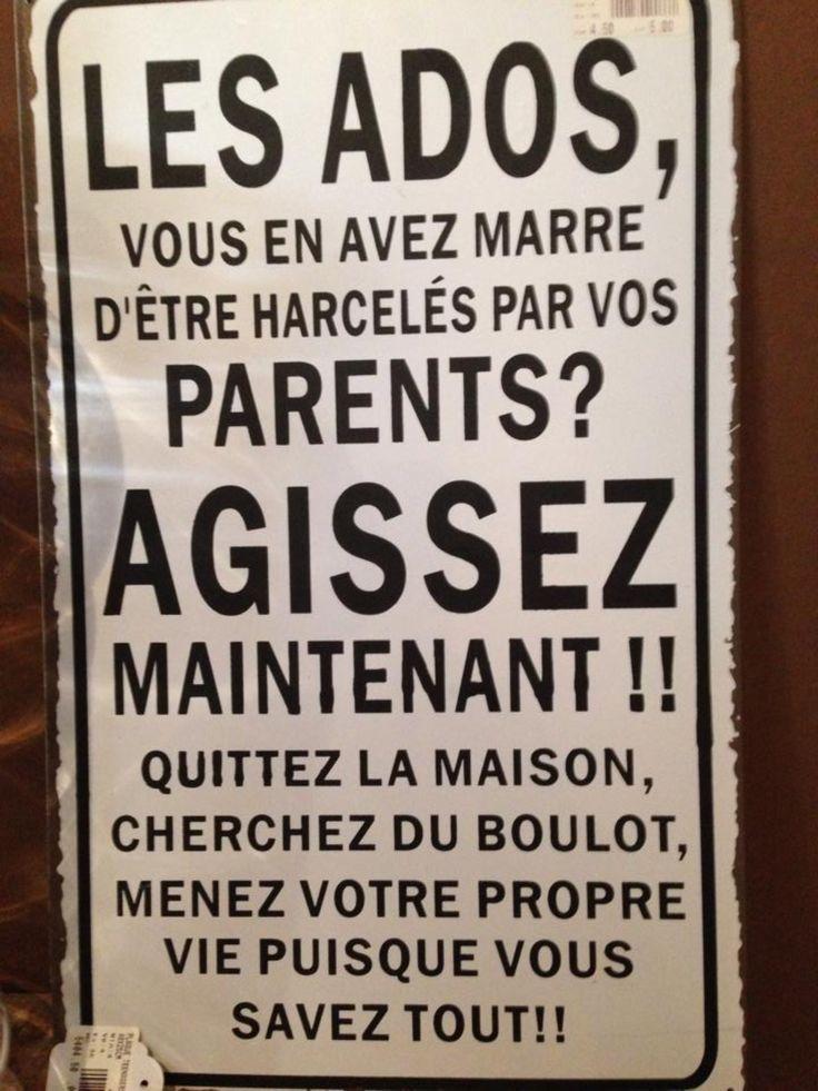 Petite pensée pour tous les parents