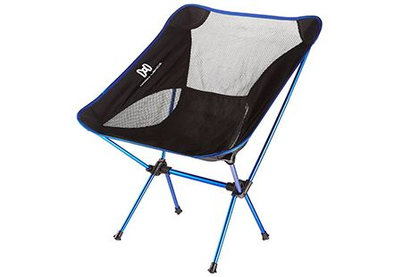 If you prefer to travel light without too much baggage, a small sized chair will suit your needs perfectly. These camping chairs are worth considering