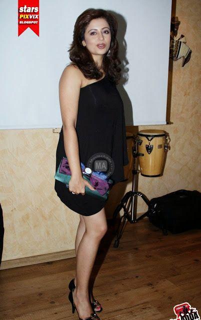 Bold Neha Pendse in Black Dress | haapus.blogspot