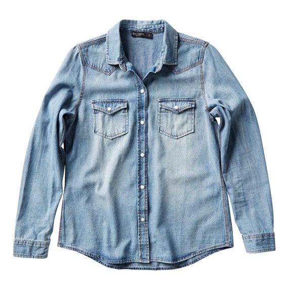 Just Jeans   Vintage Wash Denim Shirt   $59.99