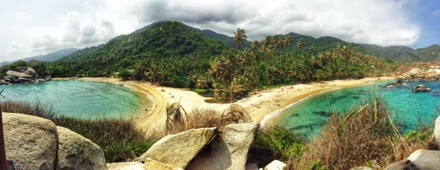 Tyrona National Park: Best places to visit in Colombia: http://indianajo.com/2014/10/places-to-visit-in-colombia.html #colombia #southamerica #travel #americas #tayrona #nationalpark