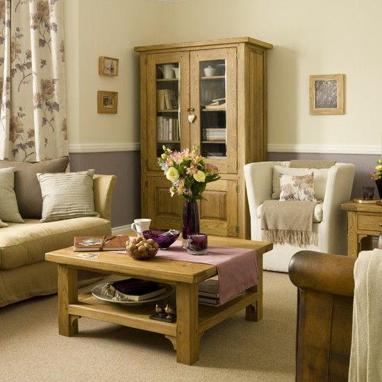 Warm living room | housetohome.co.uk