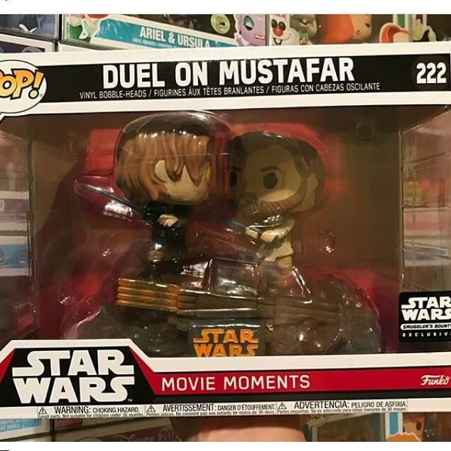 Gosh In The Revenge Of The Sith Boxxxxx I M Crying Smugglerbounty Funkofamily Funkopopvinyls Anakinvsobiwan Starwars With Images Funko Funko Pop Vinyl Funko Pop