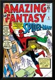 Amazing Fantasy No.15 Cover: Spider-Man Swinging Prints by Steve Ditko