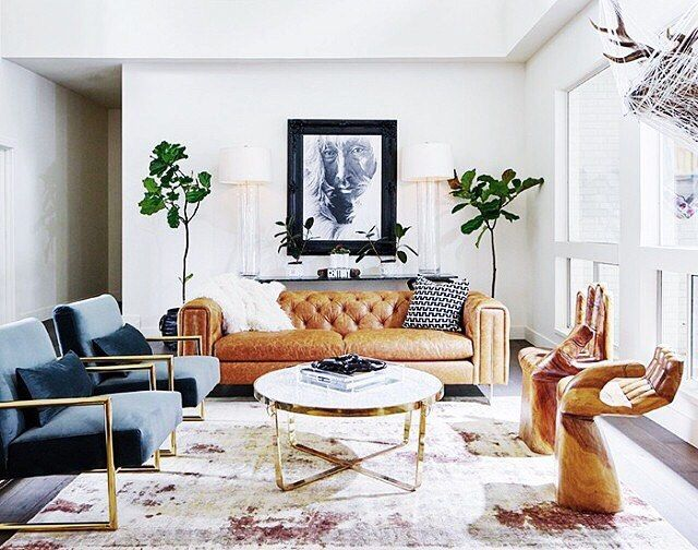 Leather Couch Family Room Part - 46: This Is Such A Fabulous Space! Those Hand Chairs Omg. Yes Please! Want. Family  RoomsLiving ...