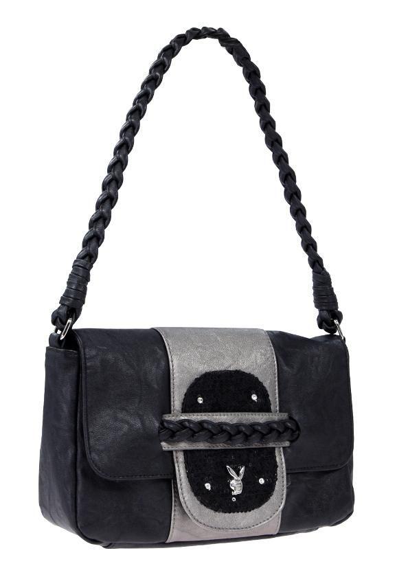 Kabelka Playboy Sequin Small Bag Black