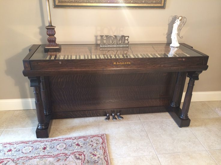 1900 S Old Willard Upright Repurposed Piano This Piece