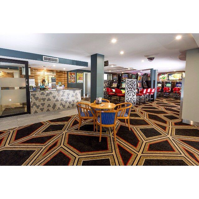 How good does the new #brintons carpet look in the Gaming room at the @mermaid_beach_tavern ? A project by #evolvedluxuryfloors and @renew.design on the #goldcoast @goldcoast @brintons_carpets