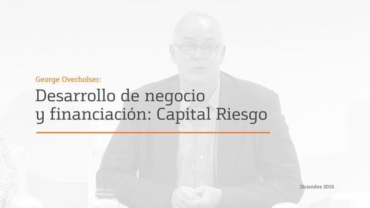 Ponencia de George Overholser, CEO de Third Sector Capital Partners, en el XXVII Future Trends Forum sobre Digital Health.