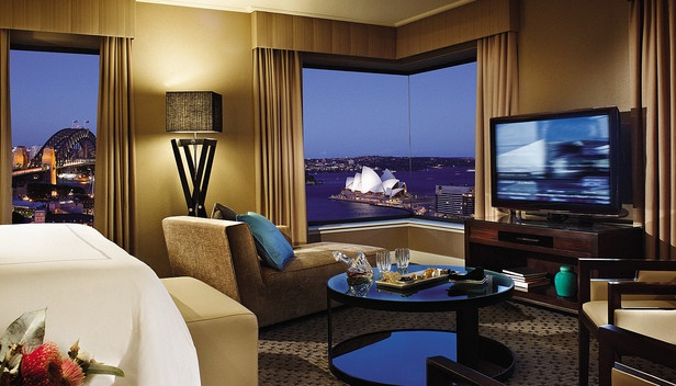 Image shows the Opera House and the Harbour Bridge from the hotel room. For nsw accommodation, sydney hotels,  sydney motels,  sydney hotel accommodation,  hotels in sydney cbd,  sydney holiday accommodation,  holiday accommodation byron bay,  http://www.ozehols.com.au/holiday-accommodation/new-south-wales/sydney/sydney-city