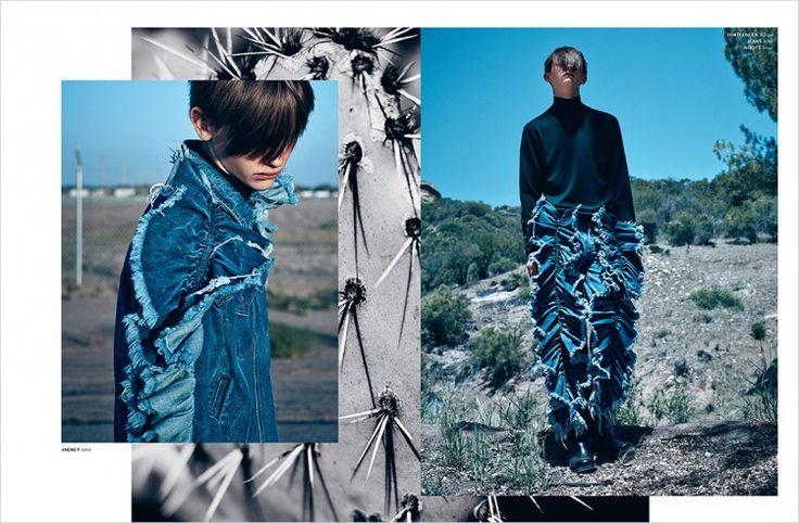 Robbie McKinnon for Dansk Magazine by Lowe H. Seger