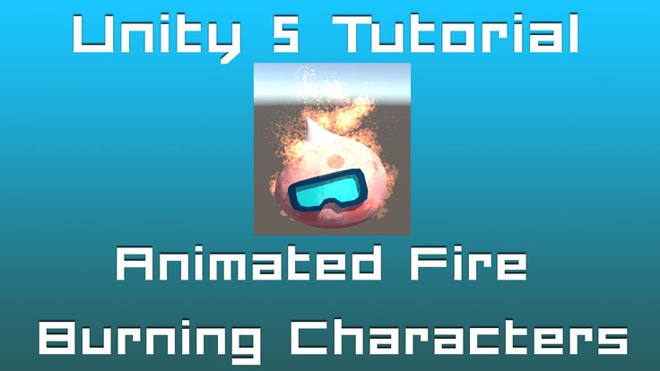 Unity 5 Tutorial: Particle Systems #06 - Animated Burning Characters