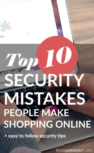 I love to online shop for amazing deals but follow these safety tips and protocols before you make your next purchase online. Learn the top 10 security mistakes people make when they shop online.