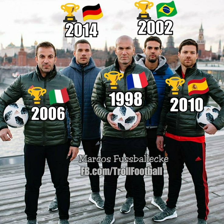"""""""5 World Cups in one Picture ...  """""""