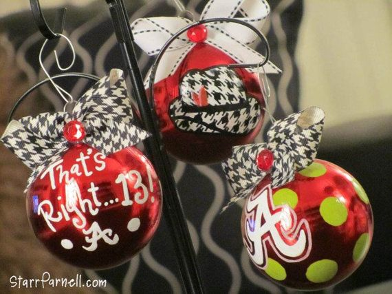 University of Alabama Ornament Variety by StarrParnell, $17.00