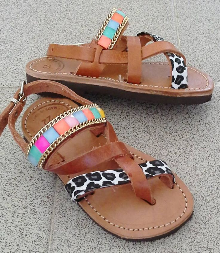 handmade colourful baby sandals #σανδαλια #χειροποιητα #παιδικα #summer #sandals #colourful #handmade #littleprincess #animalprint