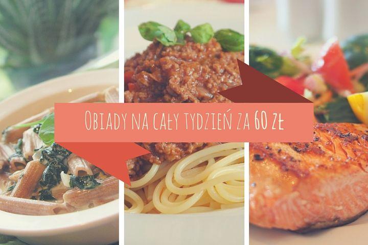 Przepisy na obiad dla studenta: jedz przez tydzień za 60 zł #student #odżywianie #pieniądze