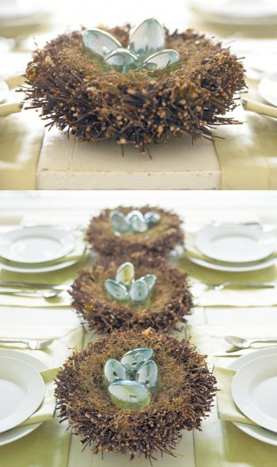 Adorable Twig Nest Decor <3