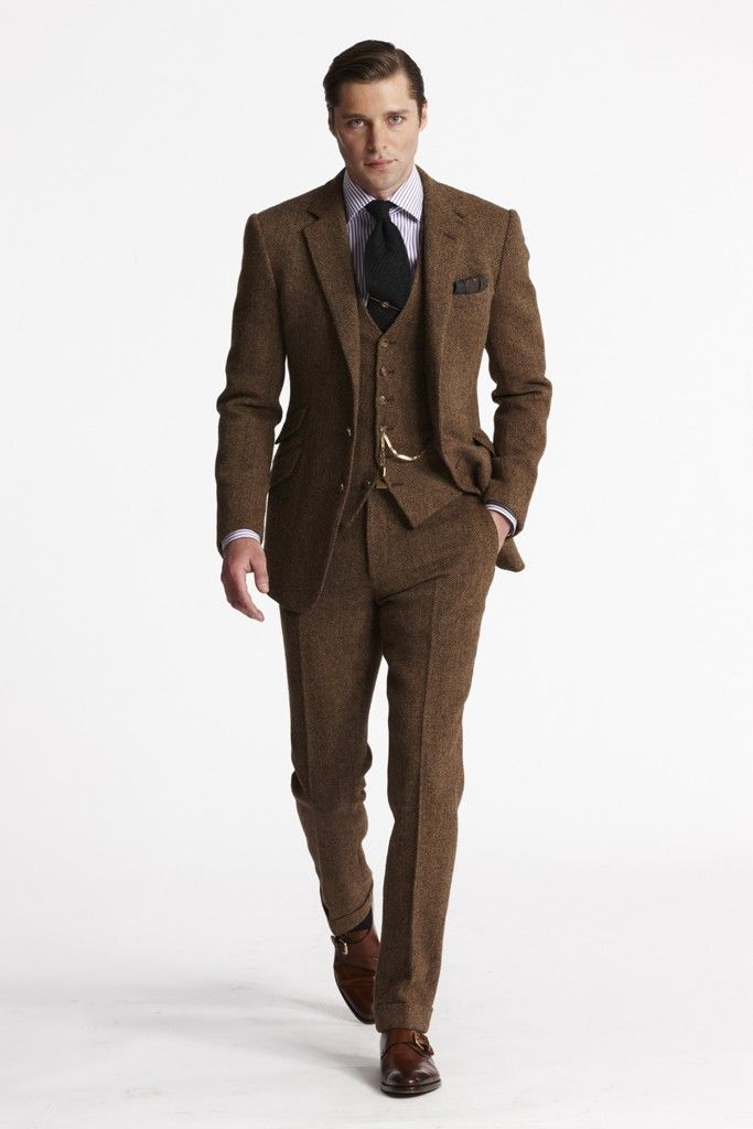 Ralph Lauren Men's RTW Fall 2013 - Slideshow - Runway, Fashion Week, Reviews and Slideshows - WWD.com