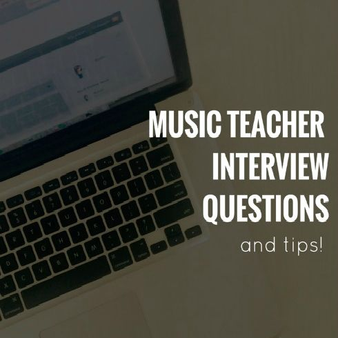 Music teacher interview questions and tips (plus - how to answer the music technology-related questions!)   Applying for a music teacher job? Wondering how you should prepare?  Nervous about the possible technology-related questions? When applying for a music teacher job it's likely that there will be a question
