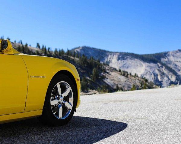 Tableau toile voiture américaine camaro