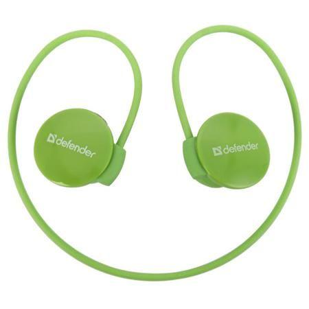 Наушники беспроводные Defender FreeMotion B611 зеленые с микрофоном  — 1190 руб. —  Портативная стерео гарнитура Defender FreeMotion B611 идеальна для занятий спортом - она небольшая, легкая и отлично держится на голове.    Встроенный микрофон обеспечивает качественную передачу звука. Клавиши управления на наушниках позволят ответить на звонок либо переключить композицию, не доставая телефон из сумки.   С гарнитурой Defender FreeMotion B611 возможно общаться по телефону или слушать…