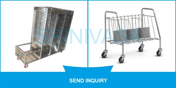 #SME We offer these trolleys in different specifications that help in meeting the diverse requirements of our clients. he diverse requirements of our clients