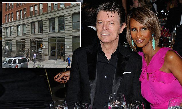David Bowie leaves half his $100m fortune and Manhattan home to Iman