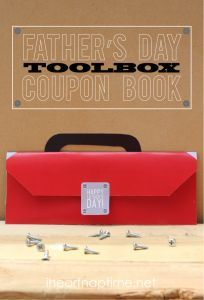 Father's Day Toolbox coupon book on I Heart Nap Time