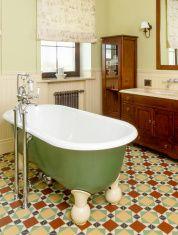 Bathtube stock photo