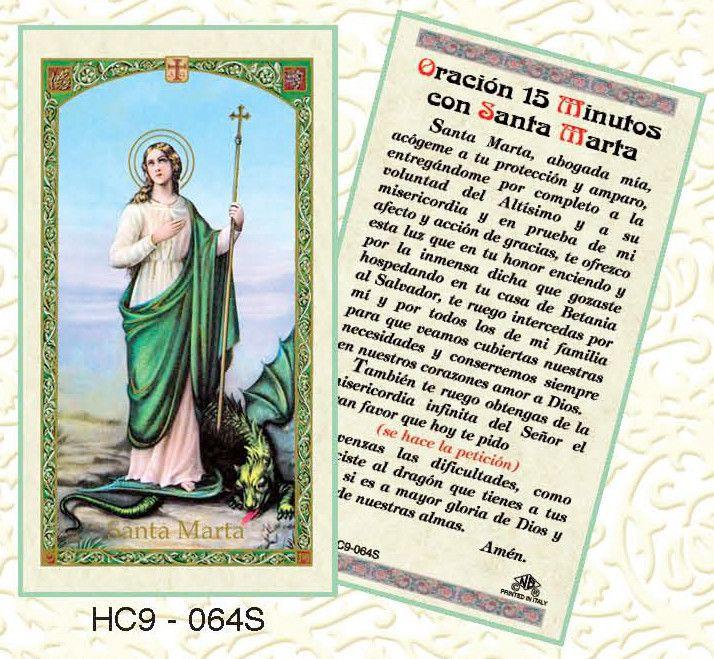 Oracion Minutos con Santa Marta
