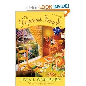 Livia  Washburn  The Gingerbread Bump-Off: