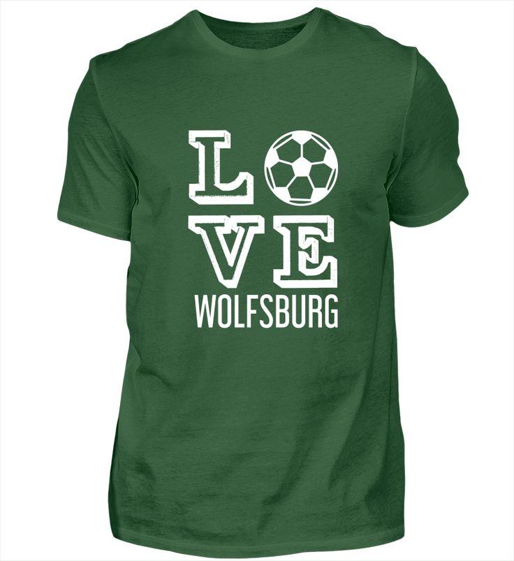 Love Wolfsburg - Fußball Shirt