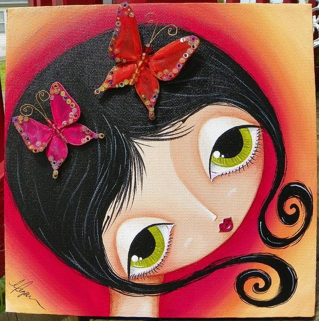 butterflies by Megan K. Suarez,
