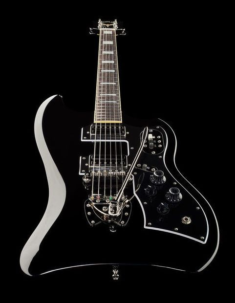 Guild S-200 T-Bird BK - Thomann www.thomann.de #guitar #extraordinary #shape #black