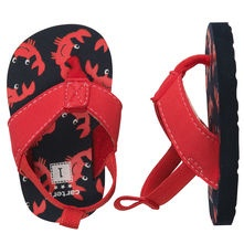 Crabby Flip Flops With Back Strap