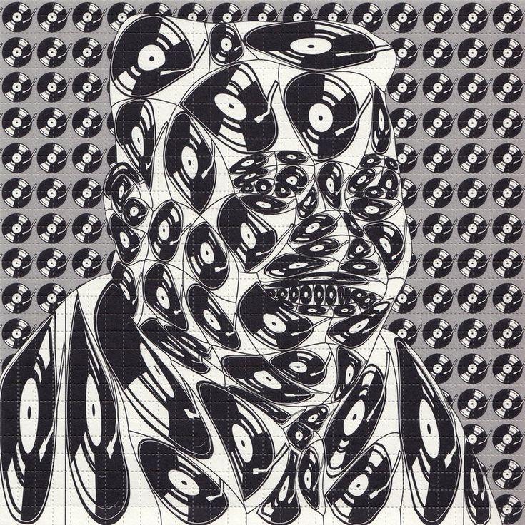 Thomas Bayrle, 'Fats Domino'