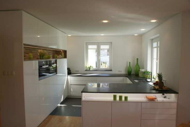Kitchen With Peninsula Open Kitchen For Small Spaces Genel Dekor Modern