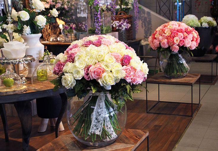 #Bouquet di #rose artificiali da #Naturalmente.