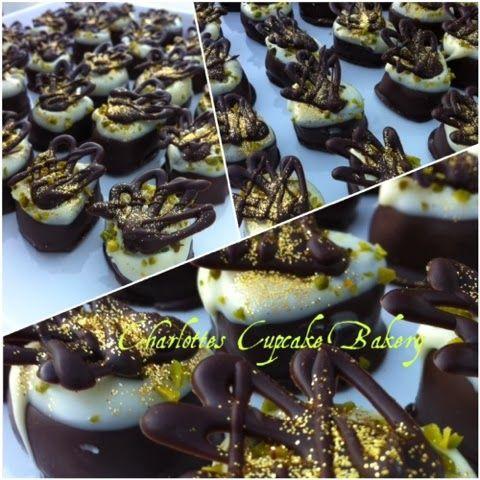Charlotte's Cupcake Bakery : Marcipan konfekt med Bailey