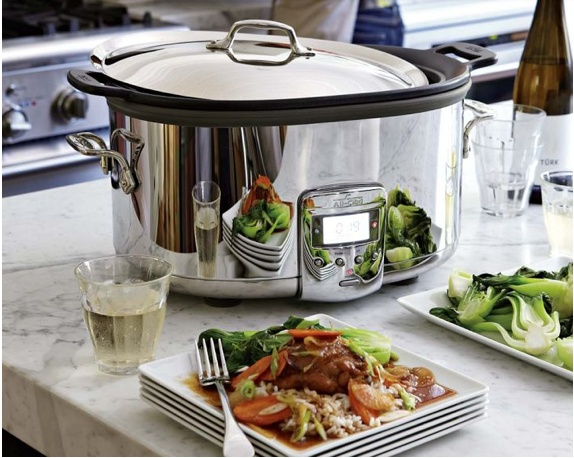 All Clad Slow Cooker from Williams and Sonoma