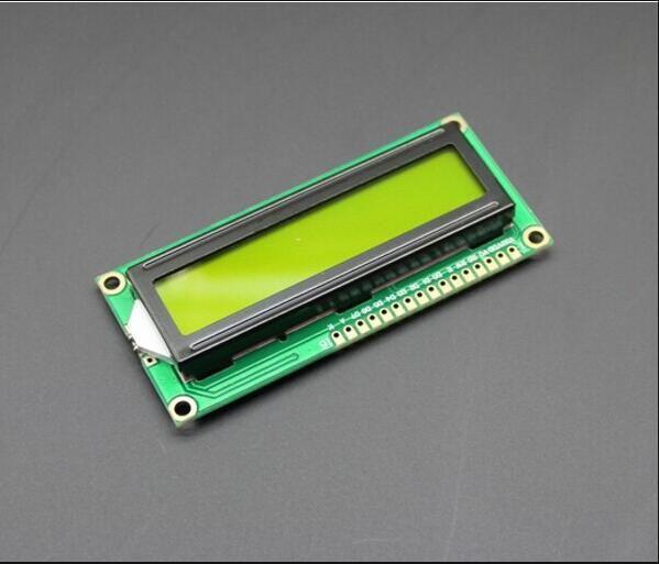1 قطع lcd1602a 1602 وحدة الشاشة الخضراء 16x2 حرف شاشة lcd عرض Module.1602 5 فولت الأخضر والأبيض كود لاردوينو