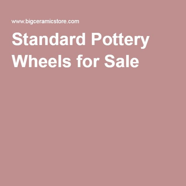 Standard Pottery Wheels for Sale