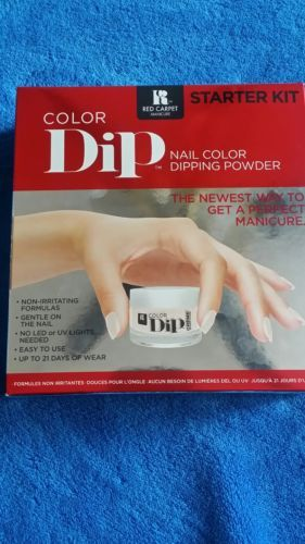 Nail Polish: Red Carpet Manicure Color Dip Nail Color Dipping Powder Manicure Starter Kit -> BUY IT NOW ONLY: $33.99 on eBay!