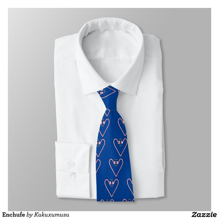 Enchufe Corbata Personalizada. Regalos, Gifts.