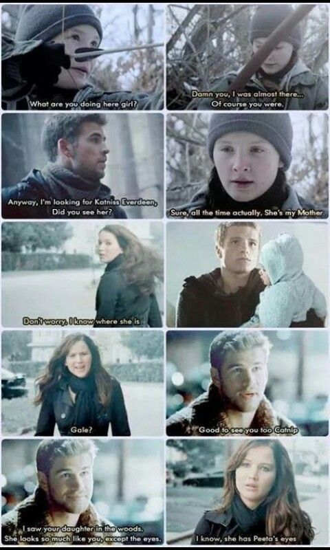 I just can't take this *crying* <<<she should have ended up with Gale this makes me so emotional