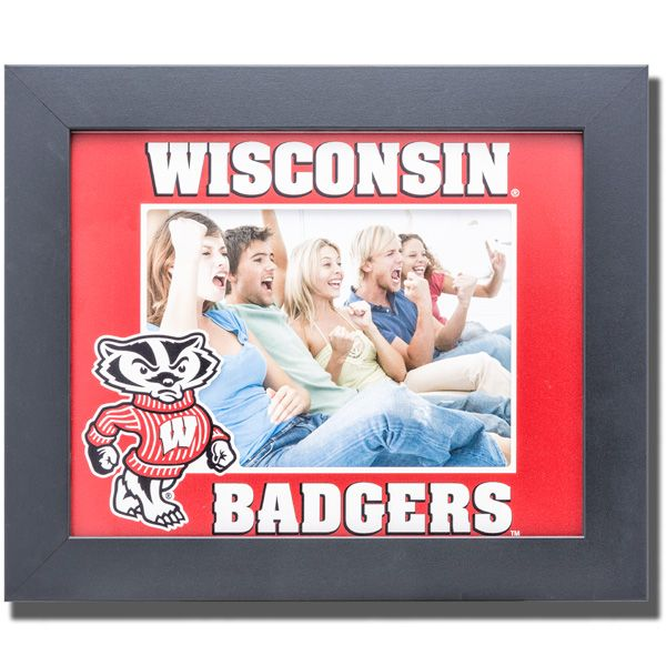 CDI Wisconsin Badgers Featuring Bucky Badger Picture Frame
