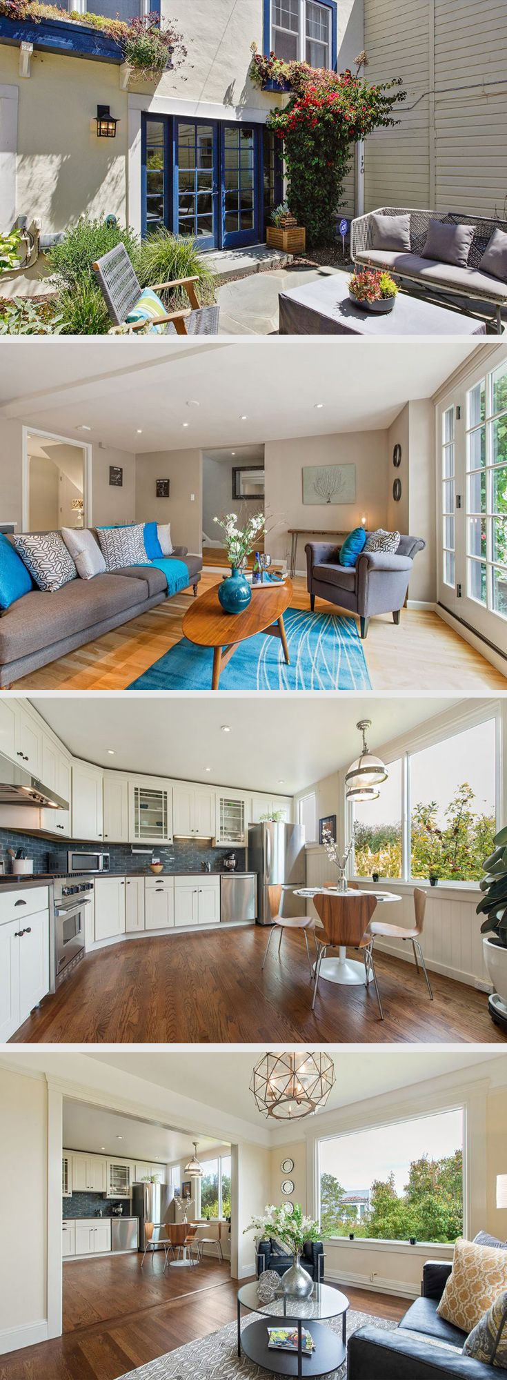 Detached House-Like Condo with Garden and Views in Glen Park on the Cusp of Noe Valley:  http://daniellelazier.com/listings/170-fairmount-street-san-francisco-ca-94131/