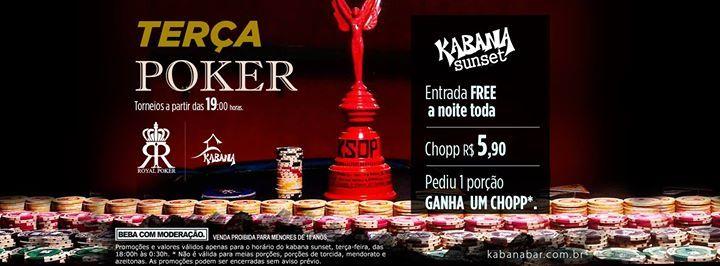 Terça Poker no kabana bar em campinas, uma balada top! eventos em campinas no Agitobr Agito Brasil